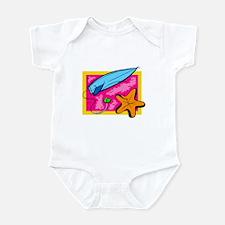 Surf Board Infant Bodysuit