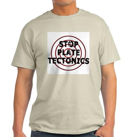 Stop Plate Tectonics (Rings) Ash Grey T-Shirt