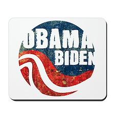 Obama Biden Grunge Mousepad