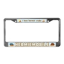 Hermiemobile (Hermit Crabs) License Plate Frame