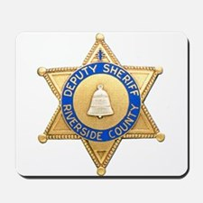 Riverside Sheriff Mousepad