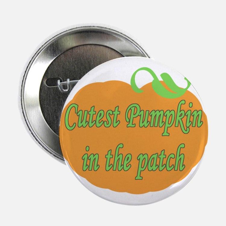 """Cutest Pumpkin 2.25"""" Button"""