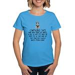 Confucius slogan Women's Dark T-Shirt