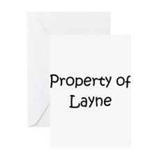 Cool Layne Greeting Card