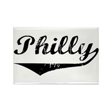 Philly Rectangle Magnet
