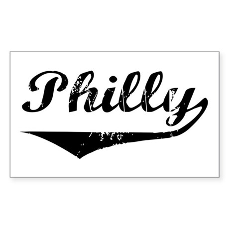 Philly Rectangle Sticker