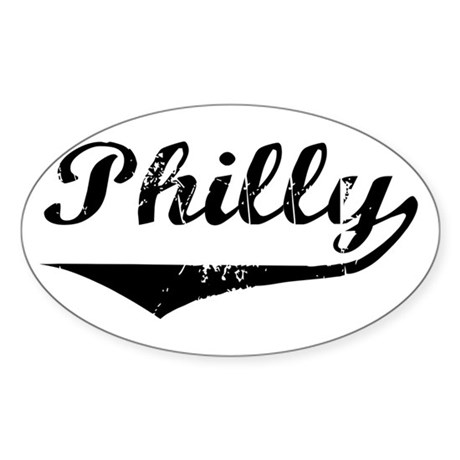 Philly Oval Sticker