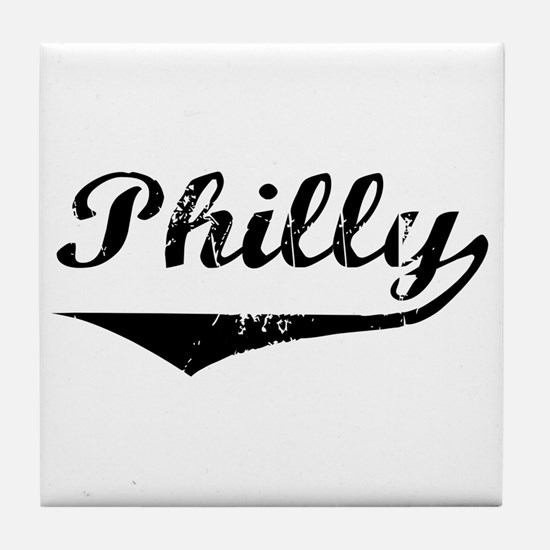 Philly Tile Coaster