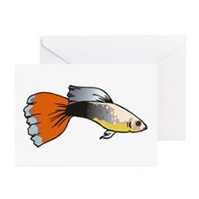 Fancy Guppy Greeting Cards (Pk of 10)