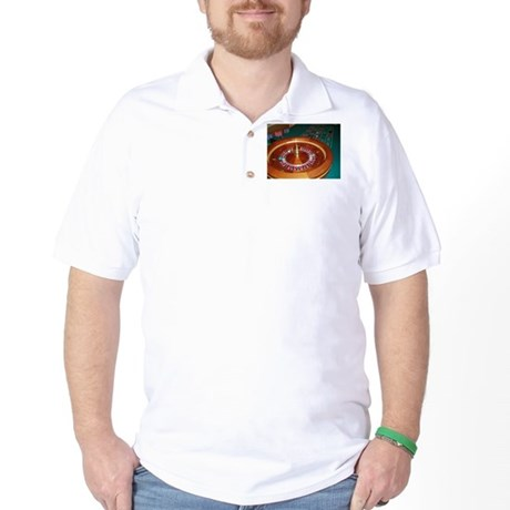 Roulette Wheel Golf Shirt