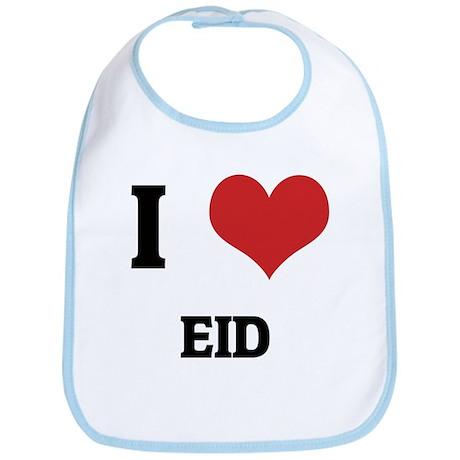 I Love Eid Bib