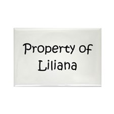 Unique Liliana Rectangle Magnet