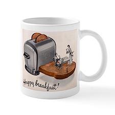 Happy Breakfast Coffee Small Mugs