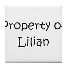 Unique Lilian Tile Coaster