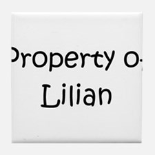 Cool Lilian Tile Coaster