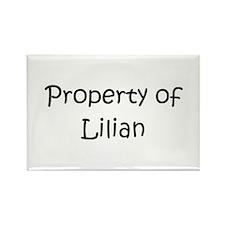 Unique Lilian Rectangle Magnet