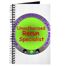Unauthorized Rerun Spoof Flyball Award Journal
