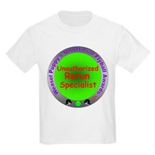 Unauthorized Rerun Spoof Flyball Award T-Shirt
