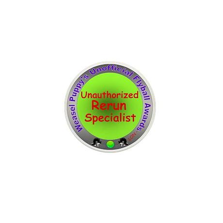 Unauthorized Rerun Spoof Flyball Award Mini Button