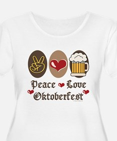 Peace Love Oktoberfest T-Shirt