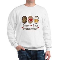 Peace Love Oktoberfest Sweatshirt