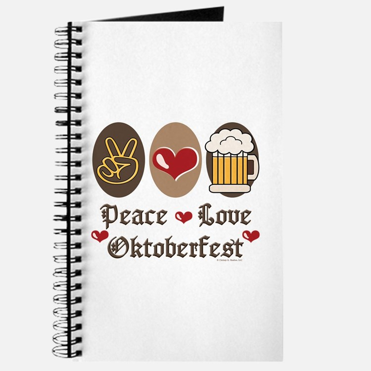Peace Love Oktoberfest Journal