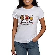 Peace Love Oktoberfest Tee