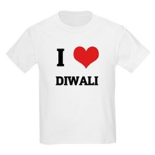 I Love Diwali Kids T-Shirt