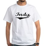 Indy White T-Shirt