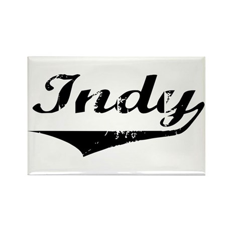 Indy Rectangle Magnet (10 pack)