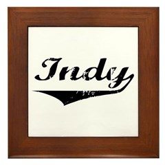 Indy Framed Tile
