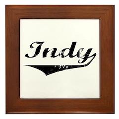 Indy Framed Tile
