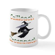 Irish Witch (Flying) Mug