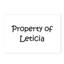 Funny Leticia Postcards (Package of 8)