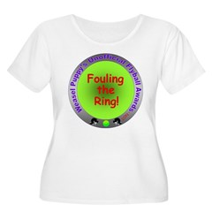 Fouling Flyball Spoof Award T-Shirt