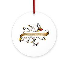 Environmental Engineering Scroll Ornament (Round)