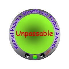 Unpassable Flyball Spoof Award 3.5