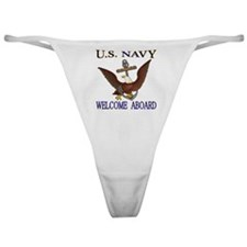 Welcome Aboard Classic Thong
