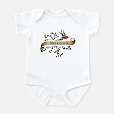 Embalming Scroll Infant Bodysuit