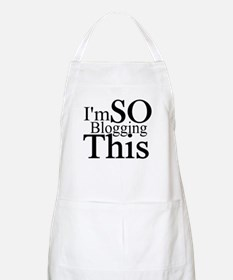 I'm SO Blogging This BBQ Apron