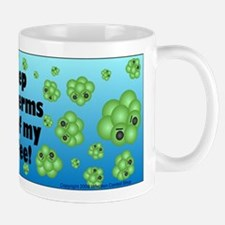 Keep the Germs Out of My Coffee Small Small Mug