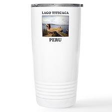Lago Titicaca Peru Travel Mug
