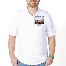 Lago Titicaca Peru T-Shirt