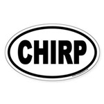 CHIRP Euro Oval Sticker