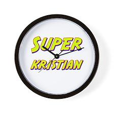 Super kristian Wall Clock