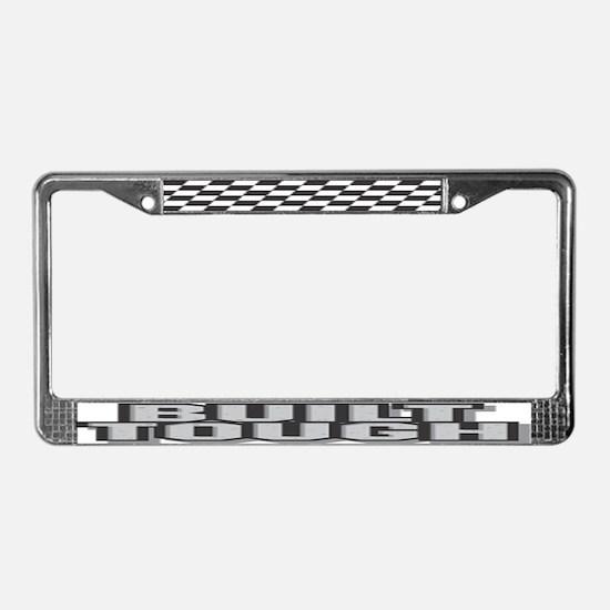 Built Tough License Plate Frame