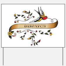 Dispatch Scroll Yard Sign