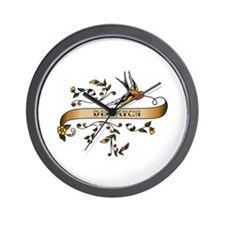 Dispatch Scroll Wall Clock