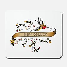 Diplomacy Scroll Mousepad