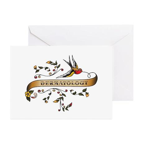 Dermatology Scroll Greeting Cards (Pk of 10)